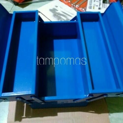 Foto Produk Tool Box Besi 2 susun Tempat Perkakas Kerja dari Tampomas Teknik