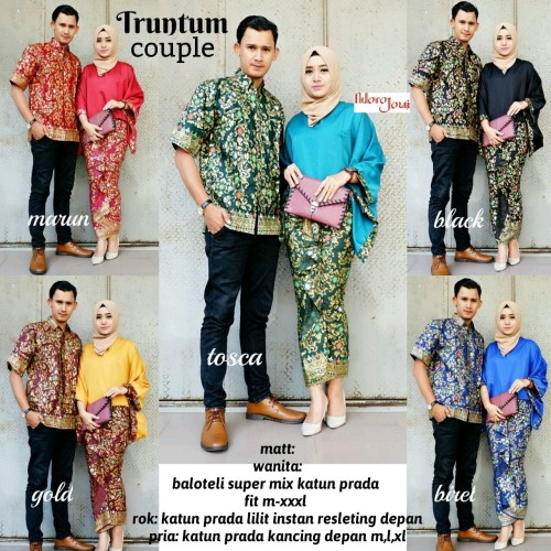 Foto Produk Truntum Couple / Batik Truntum Couple / Setelan Batik Sarimbit  dari bastianpandushop