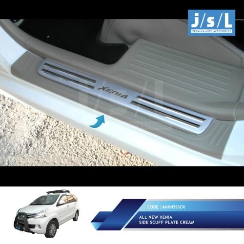 Foto Produk All New Avanza/Xenia Sillplate Samping Krem/Side Scuff Plate Cream dari Autotivo
