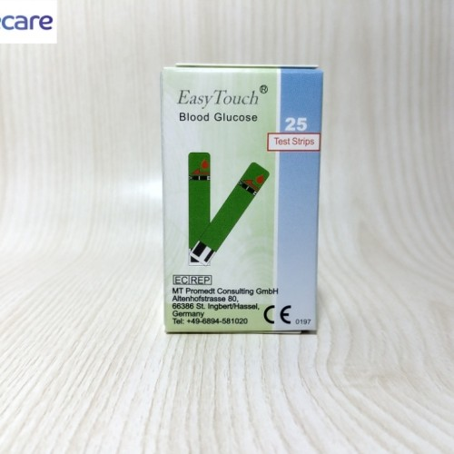 Foto Produk Strip Easy Touch Gula Darah / Glucose dari PrimeCare