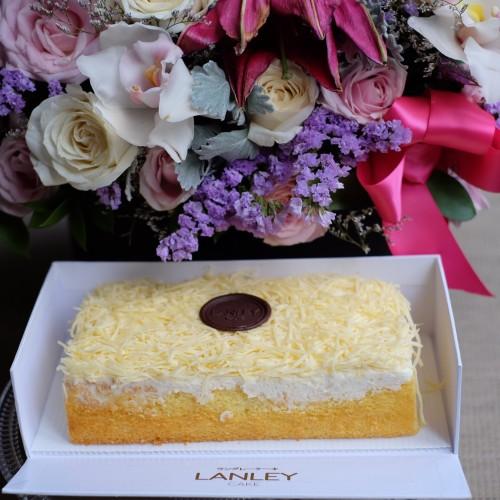 Foto Produk Small Cheese 10cm x 20cm dari Lanley Cake