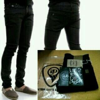 Foto Produk Celana Jeans PSD Black / Peter Says Denim Black / PSD Hitam dari Wallrosmart Cloth