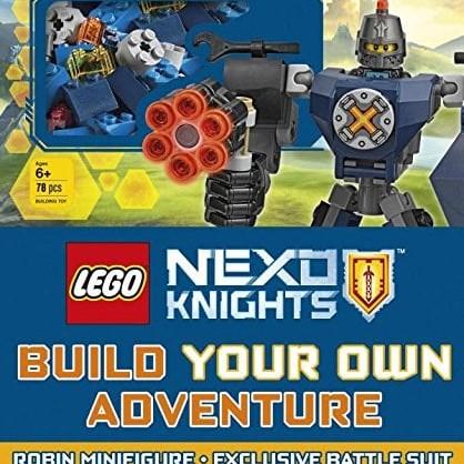 Foto Produk LEGO NEXO Knights Build Your Own Adventure HC - Robin Battle Suit Book dari Mul's Comics