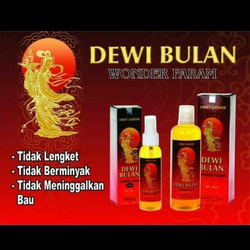Foto Produk PAKET Obat Gosok Dewi Bulan / Wonder Param --100 ml & 250 ml dari DJs shop online