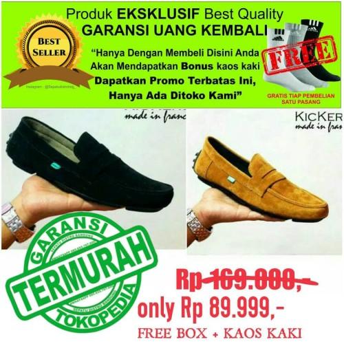 Foto Produk kickers Clasico sepatu pria casual kulit asli OBRAL SALE #kreasilokal dari Sepatu Distro Bandung