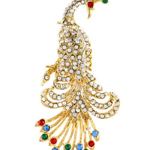 Foto Produk 1901 Jewelry Bros Peacock Lapis Emas 22k dari 1901 Jewelry