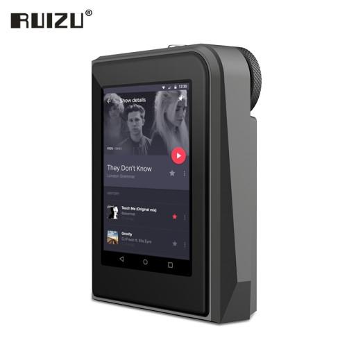 Foto Produk RUIZU A50 DSD256 24bit/192kHz HD Lossless MP3 Sport Music Player - Hitam dari Hokky Dokky
