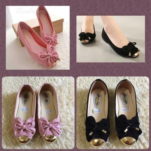 Foto Produk Flat Shoes Kupu Kupu Sepatu Flat NJ21 dari Nin's Collections