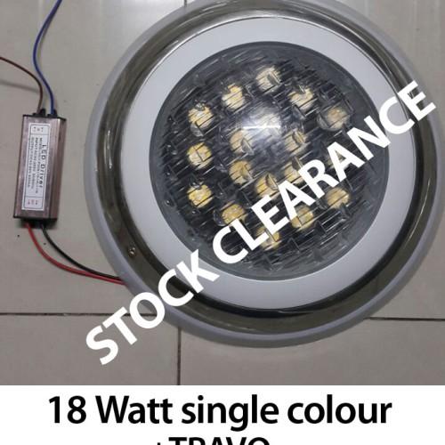 Foto Produk Lampu Kolam 18 Watt H300 + Transformer dari Multi Daya