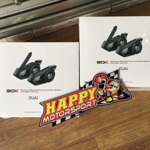 Foto Produk Paket Communicator Sena 30k dual pack (1 dus buat 2 helm/2riders) 3km dari Happy MotorsportKadipiro