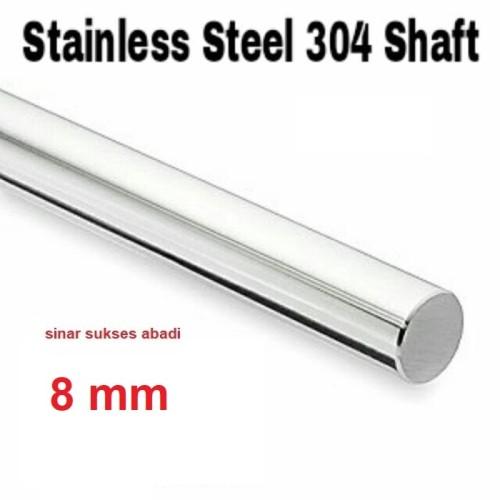 Foto Produk 8 mm AS/ shaft / rod STAINLESS STEEL dari sinar sukses abadi