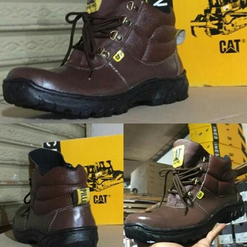 Foto Produk TERMURAH BRODO Sepatu Pria tracking safety boots caterpillar handmade dari Bandungpro Store