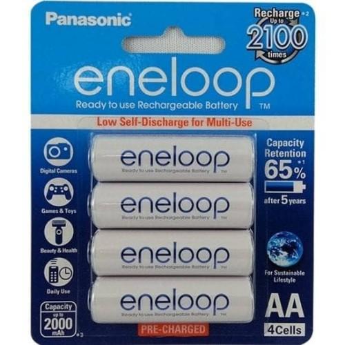 Foto Produk Baterai Panasonic Eneloop AA 2000mAh 4 pcs dari Jamur Store