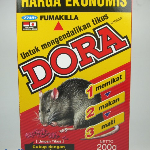 Foto Produk DORA RACUN TIKUS 200g FUMAKILA dari Bilka Supermarket