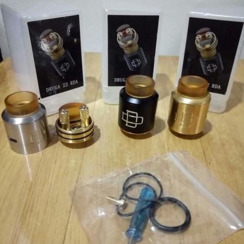 Foto Produk Druga RDA 22mm Plastic Box Premium Quality Clone Atomizer Vape Vapor dari Vapeoi Cimahi