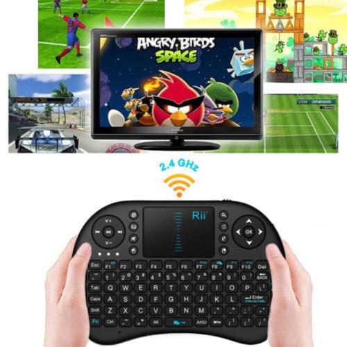 Foto Produk Mini Keyboard Wireless i8 2.4G Handheld Keyboard For PC Android TV Box dari acc pusat jakarta