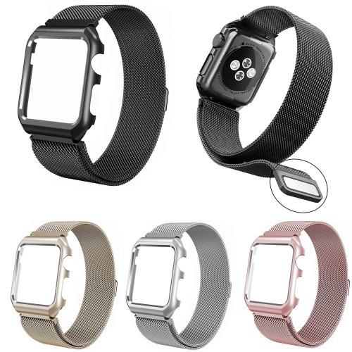 Foto Produk Strap apple watch milanese magnet loop + case 38mm dan 42mm dari O-Gadget