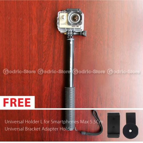 Foto Produk Tongsis Titanium Attanta SMP-08 Foldable Holder GoPro,Xiaomi Yi & HP dari JURAGAN-CAHYO