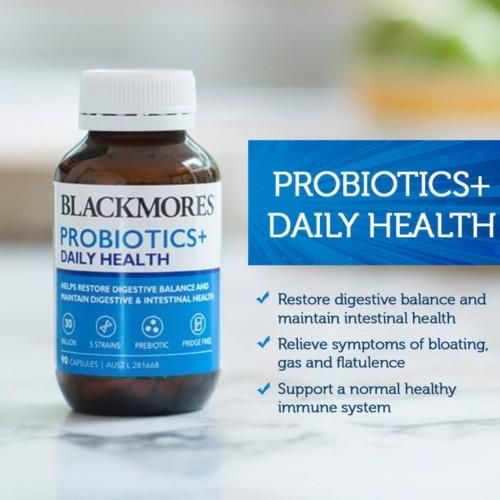 Foto Produk BLACKMORES Probiotics+ Daily Health 90caps prebiotic probiotic dari shoppersonal4u