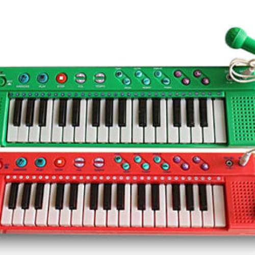 Foto Produk (Murah) Mainan Piano Techno Karaoke Lagu Anak Indonesia T-2768 dari kalarta shop