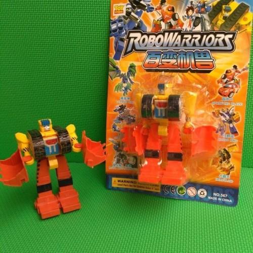 Foto Produk (Sale) robowarriors mainan robot robotan mobil robot transformasi dari kalarta shop