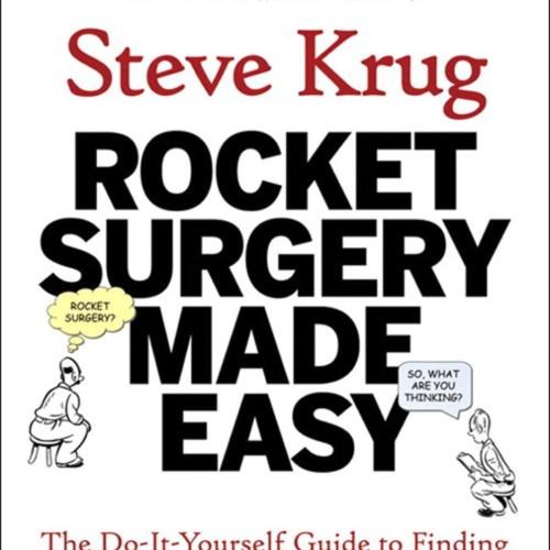 Foto Produk Rocket Surgery Made Easy by Steve Krug dari Junkfish