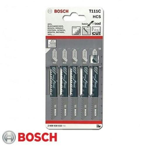 Foto Produk Mata Jigsaw Bosch / Jigsaw Blade T111C / T 111C / T 111 C dari Bosch Official Store
