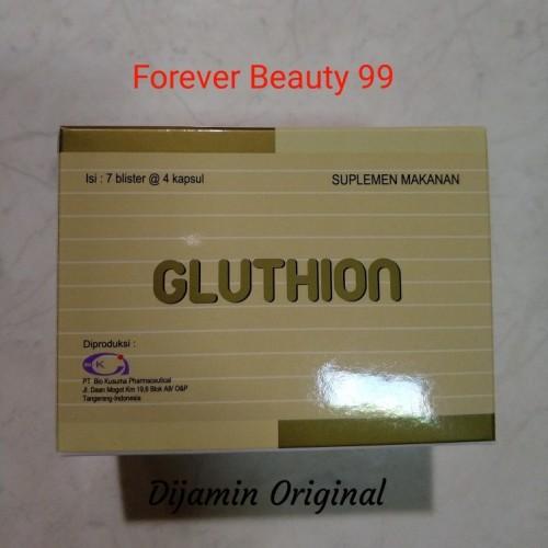 Foto Produk gluthion suplemen pemutih & pencerah kulit dari Forever Beauty 99