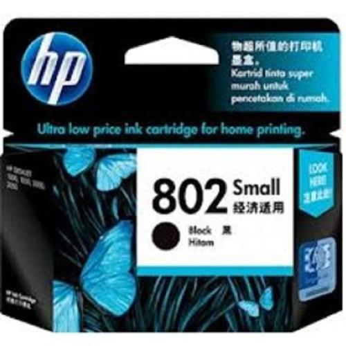 Foto Produk Tinta HP 802 small black ink Cartridge dari FJ COM
