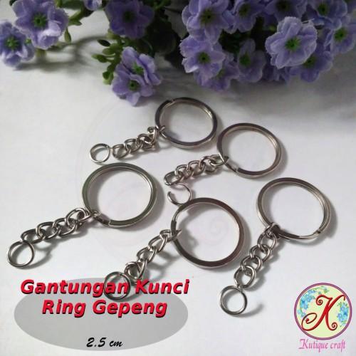 Foto Produk Ring Gantungan Kunci Gepeng lusinan dari Kutique Craft