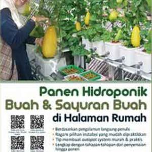 Foto Produk Panen Hidroponik Buah dan Sayuran Buah di Halaman Rumah dari Toko Kutu Buku