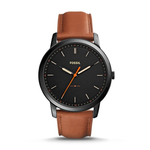 Foto Produk Jam Tangan Pria Fossil Minimalist Slim Light Brown Leather FS5305 dari Luxolite SG Timepieces
