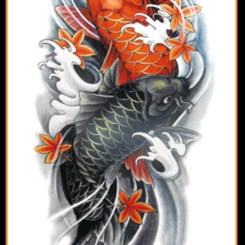 Foto Produk Tatto Temporary 21x15 cm Ikan dari Abadi Foto