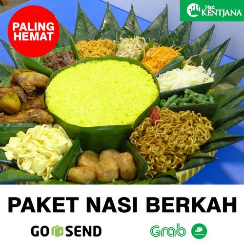 Foto Produk Nasi Tumpeng Berkah 5 porsi - Nasi Kuning - Nasi Kentjana dari Nasi Kentjana Online
