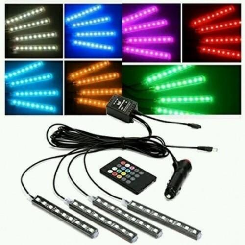 Foto Produk LAMPU LED KOLONG RGB + REMOTE MOBIL WITH SENSOR MUSIC dari Prime Auto Variasi