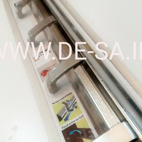 Foto Produk Kapstok Lipat Alumunium 6 Kait Gantungan Serba Guna dari Bentara