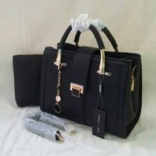 Foto Produk 877 Tas Wanita Premium Hitam dari Almy_shop