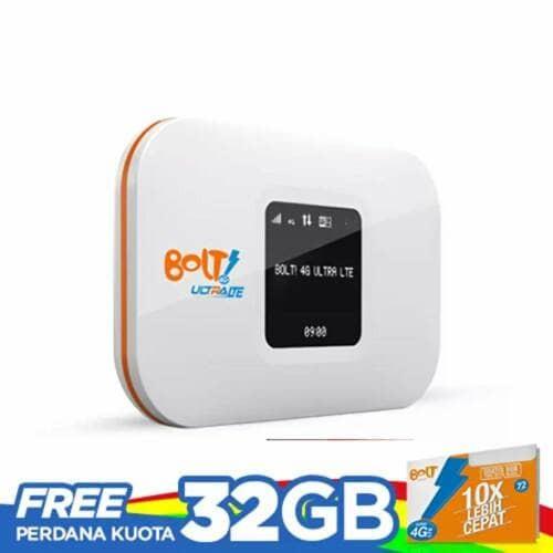 Foto Produk Modem Wifi Bolt Aquila Slim free Kuota 32GB dari aneka buku & software