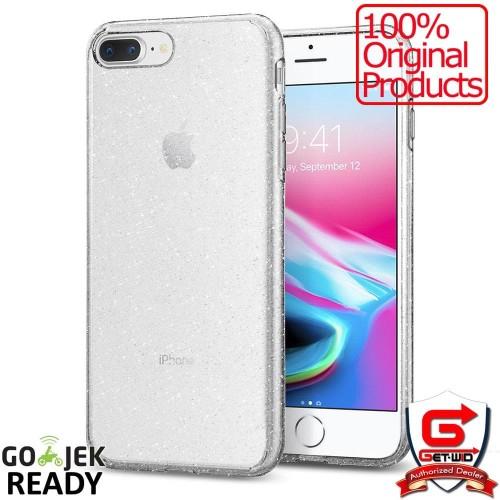 Foto Produk Spigen Liquid Crystal Glitter iPhone 8 Plus iPhone 7 Pl Best Seller dari Harika Fashion