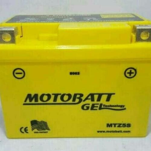 Foto Produk Aki Motobatt MTZ5S utk motor Honda Beat, Vario, Scoopy, Spacy dari Langgeng Battery