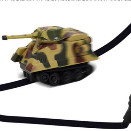 Foto Produk mainan mobil ajaib |mengikuti garis pena |inductive car toy tank dari asyif