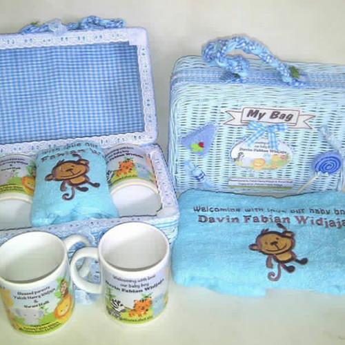Foto Produk souvenir hampers one month ulang tahun aqiqa wedding dari Elaine shopping