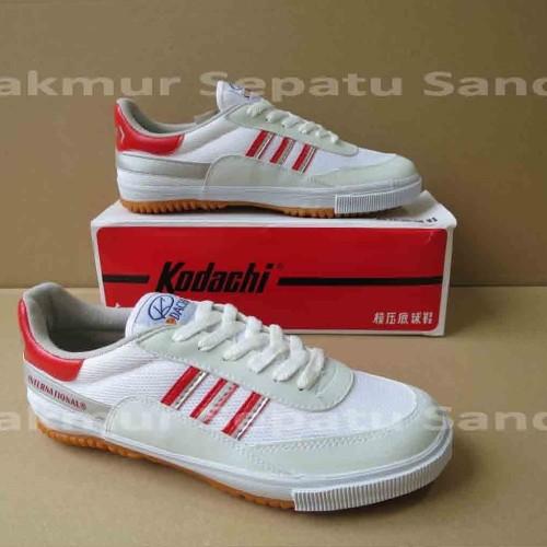 Foto Produk Sepatu Capung - Kodachi 8116 - Merah/Silver dari Makmur Sepatu Sandal