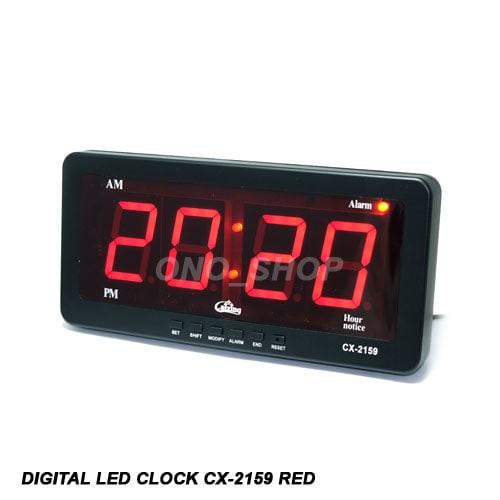 Foto Produk Digital LED Clock  CX-2159 Red dari ONO SHOP