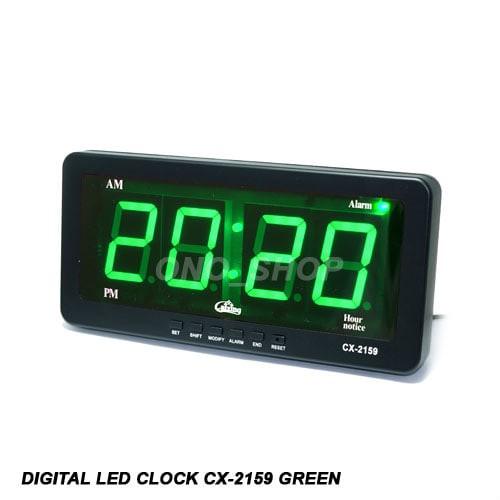 Foto Produk Digital LED Clock  CX-2159 Green dari ONO SHOP