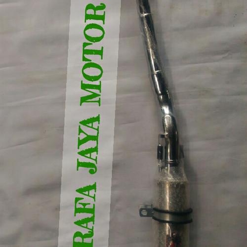 Foto Produk Knalpot Racing MX Lama Chrome CSR dari Rafa jaya motor