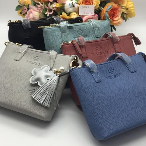 Foto Produk hand bag import no. 90065 - Abu-abu Muda dari dream home8