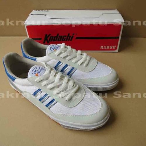 Foto Produk BIG SIZE Sepatu Capung - Kodachi 8116 - Biru/Silver KHUSUS NO 44 & 45 - 45 dari Makmur Sepatu Sandal