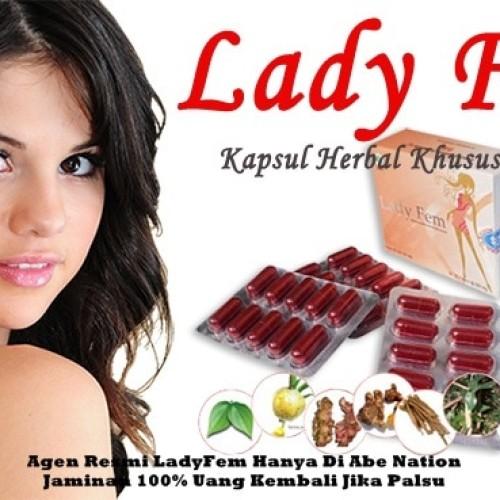 Foto Produk LADYFEM-OBAT KEPUTIHAN, NYERI HAID, KISTA, KURANG BERGAIRAH dari ABENation