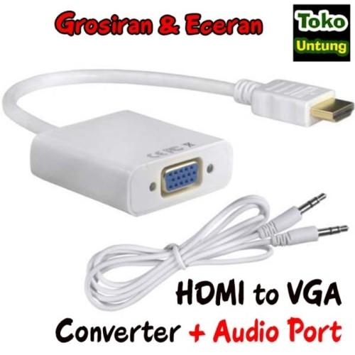 Foto Produk best quality Kabel HDMI to VGA Converter dari el-nur
